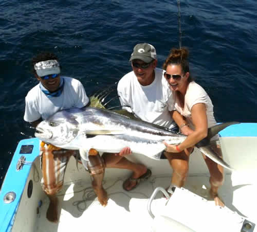 inshore fishing out of Riu guanacaste