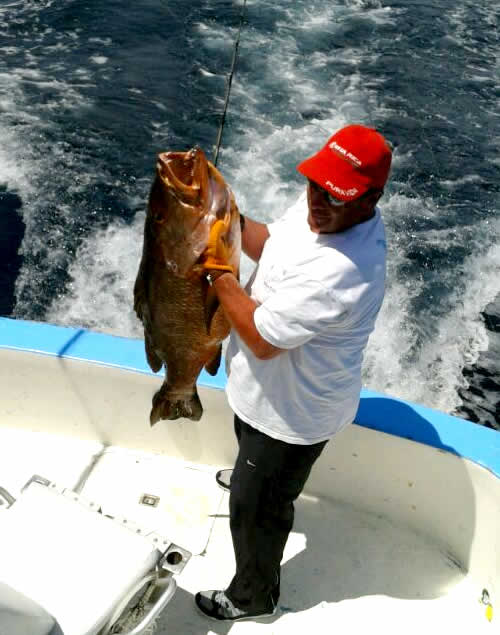inshore fishing out of Playa Hermosa