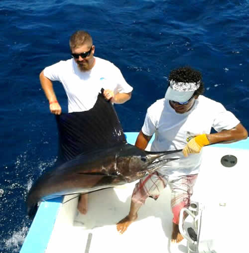 Riu Guanacaste Deep sea fishing